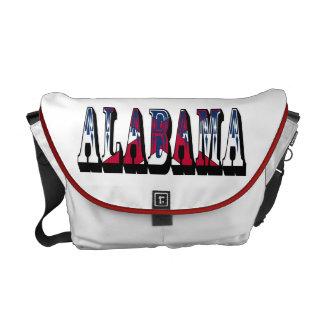 Dixieの記念品のメッセンジャーバッグのアラバマのハート メッセンジャーバッグ