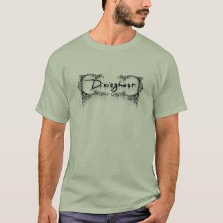 Dixieghostのロゴ Tシャツ