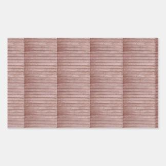DIYのテンプレートの芸術家によって作成されるDecoの写実的なプリント 長方形シール