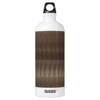 DIYのテンプレートの芸術家は質色の調子の芸術を作成しました ウォーターボトル