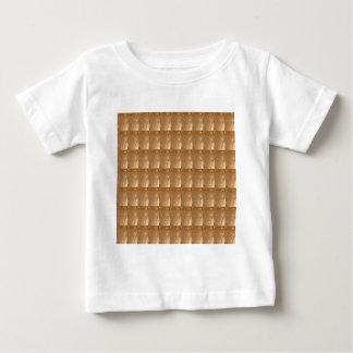 DIYのテンプレート24%の金ゴールドの輝きの宝石の背景 ベビーTシャツ