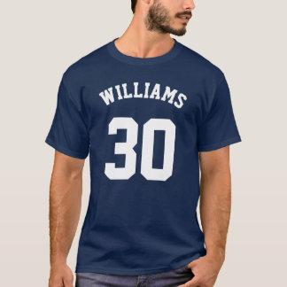 DIYのフォント+色、お気に入りのなチーム・メンバー+数 Tシャツ
