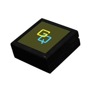 """DIYのモノグラムの~のギフト用の箱小さい5.125"""" ギフトボックス"""