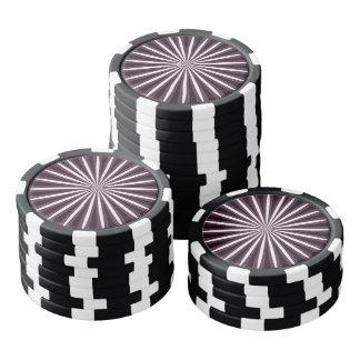 DIYの使用はメニュー15ストライプな色の選択を落とします ポーカーチップ