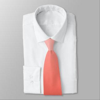 DIYの勾配色、珊瑚のオレンジ/エコーのモモ ネクタイ