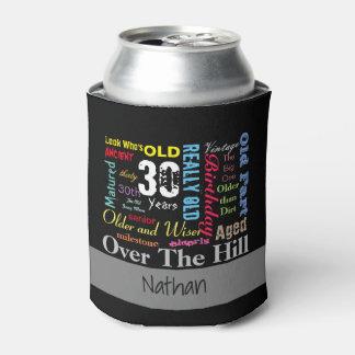 DIYの年齢|の第30ハッピーバースデー|のマイル標石 缶クーラー