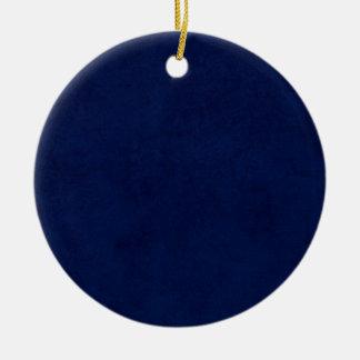 DIYの真夜中の青い背景のカスタムな家のギフトのアイディア セラミックオーナメント