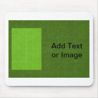 DIYの芸術用具- ART101緑の豊富な表面 マウスパッド