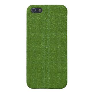 DIYの芸術用具- ART101緑の豊富な表面 iPhone 5 COVER