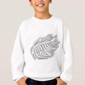 DIYの落書きを着色するFireBird スウェットシャツ