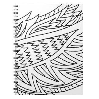 DIYの落書きを着色するFireBird ノートブック