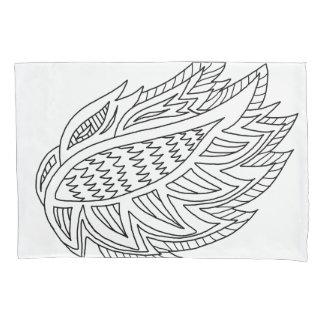 DIYの落書き2を枕カバー着色するFirebirdは味方しました 枕カバー