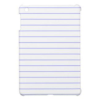 DIYの薄いラインが付いているカスタムなノートの紙のブロック iPad MINI CASE