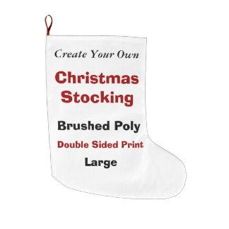 DIYはV04に貯蔵するあなた自身のクリスマスを作成します ラージクリスマスストッキング