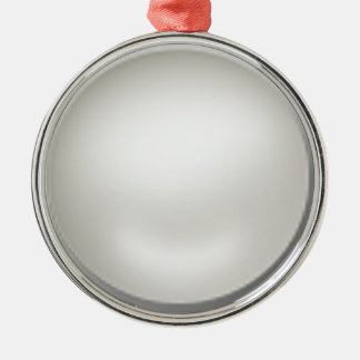 diyテンプレート シルバーカラー丸型オーナメント