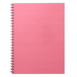 diy空白のなピンクの質のテンプレートは文字のイメージ99を加えます ノートブック