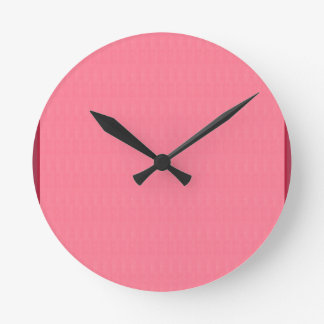 diy空白のなピンクの質のテンプレートは文字のイメージ99を加えます ラウンド壁時計