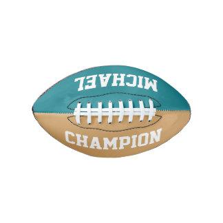 DIY -あなたの単語及び背景色だけ加えて下さい アメリカンフットボール