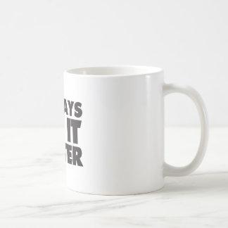 DJそれは白いマグをよくします コーヒーマグカップ