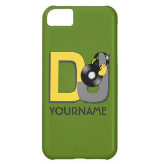 DJのカスタムな色及びモノグラムのケース iPhone5Cケース