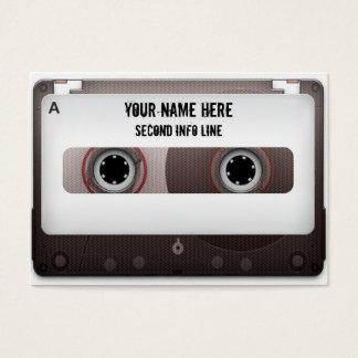 DJのカセットテープMixtape 名刺
