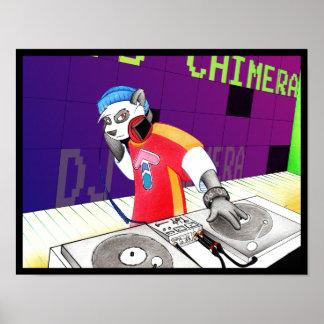 DJのキメラポスター ポスター