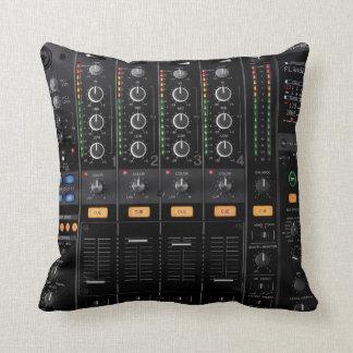 djのターンテーブルのミキサーの枕 クッション