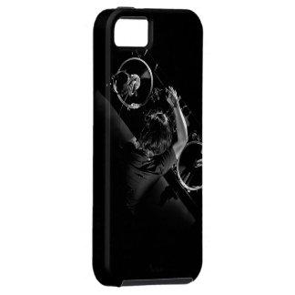 DjのターンテーブルのiPhone 5の場合 iPhone SE/5/5s ケース