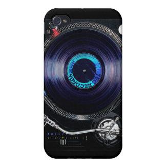 DJのターンテーブル iPhone 4/4Sケース