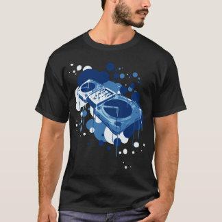 DJのターンテーブル Tシャツ