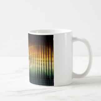 DJのテクノのSoundwave音楽ディスコ コーヒーマグカップ