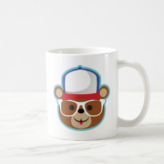 DJのテディの渦 コーヒーマグカップ