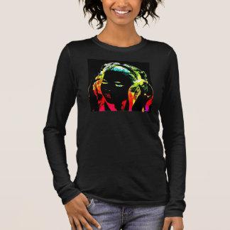 DJのネオン 長袖Tシャツ
