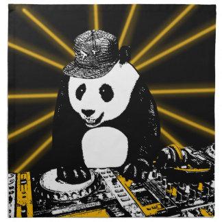 DJのパンダ ナプキンクロス