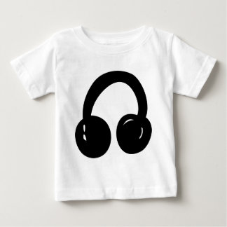 djのヘッドホーン ベビーTシャツ