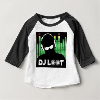 DJのベビーのワイシャツ ベビーTシャツ