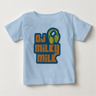 DJの乳白色のミルク ベビーTシャツ
