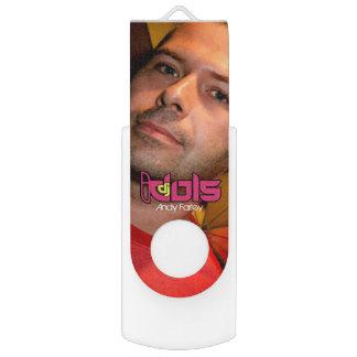DJの偶像: アンディーFarley USBのフラッシュドライブ USBフラッシュドライブ