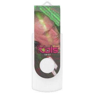 DJの偶像: イアンM USBのフラッシュドライブ USBフラッシュドライブ