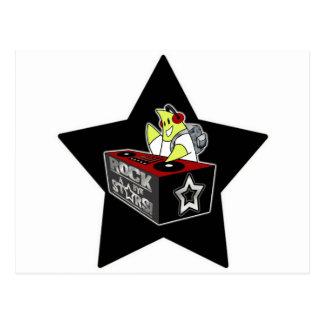 DJの星 ポストカード