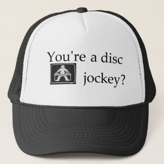 DJの網の帽子 キャップ