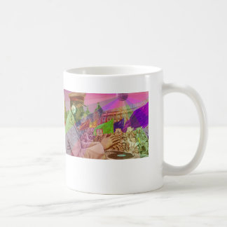 DJの虹のスターリンのマグ コーヒーマグカップ