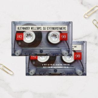 DJの非凡なカセットテープ 名刺