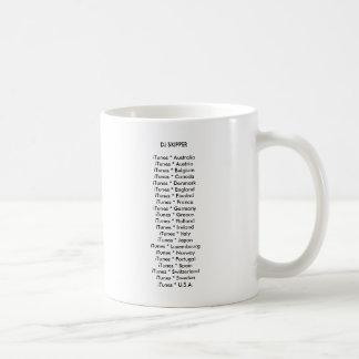 DJの飛ぶ人のiTunes * AustraliaiTunes *… コーヒーマグカップ