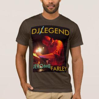 、DJの、/、伝説、ジェローム、カスタマイズFARLEY - Tシャツ