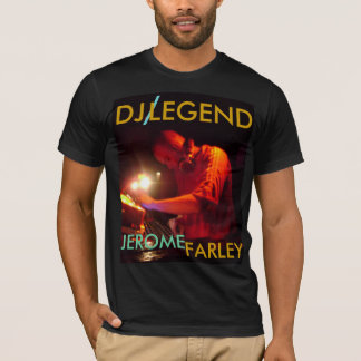 、DJの、/、伝説、ジェローム、FARLEY Tシャツ