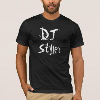 djのstylezのスラッシュのデザイン tシャツ