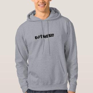 DJはフード付きスウェットシャツの灰色を取ります パーカ