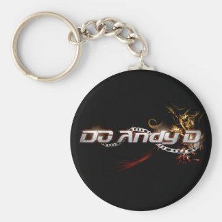 DJアンディーD Keychain (Fireyのロゴ) キーホルダー