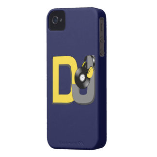 DJカスタムな色のブラックベリーの箱 Case-Mate iPhone 4 ケース
